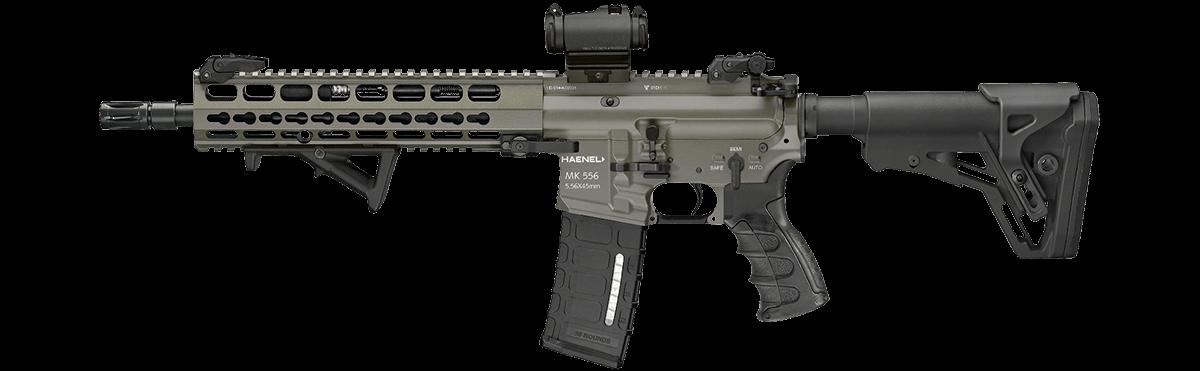 Haenel MK 556 – ein vollautomatisches Sturmgewehr